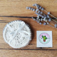 Set of 3 crochet makeup remover disc